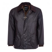 Barbour Wax Jacke Bedale Navy