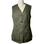 William&Son Shooting Vest Lovat Green Cotton