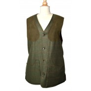 William&Son Shooting Vest Rushmore Tweed