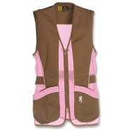Browning Vest Sporter Ambidextre Lady PinkBrown