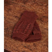 Purdey Handschuhe fingerless brown