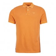Barbour Polo washed acid orange