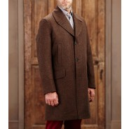 Purdey Men's Tweed Country Coat