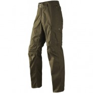 Seeland Field Zipoff trousers Pine green