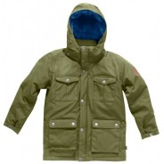 Fjäll Räven Greenland Children Jacket Tarmac
