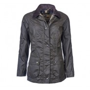 Barbour Wax Jacket Ladies Beadnell Olive