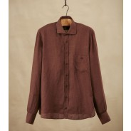 Purdey Shirt Linen brown