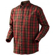 Seeland Pilton Shirt Spicy Red check