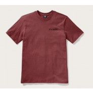Filson Outfitter Graphic T-Shirt Burnt Red