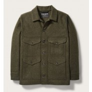 Filson Lodenjacke green Mackinaw Cruiser