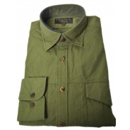 Purdey Safari Shirt olive green