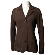Purdey tanned leather Jacket