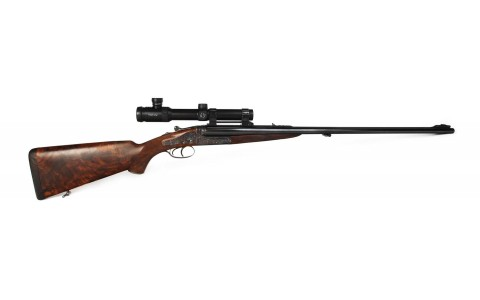 "Holland & Holland, Double rifle ""Dominion"", caliber .375 Flanged Magnum"