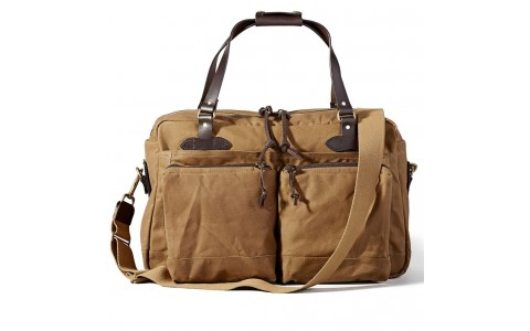 Filson Duffle Bag Dark Tan