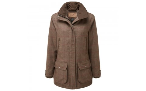 Schöffel Ptarmigan Tweed Lady Fieldcoat Sussex