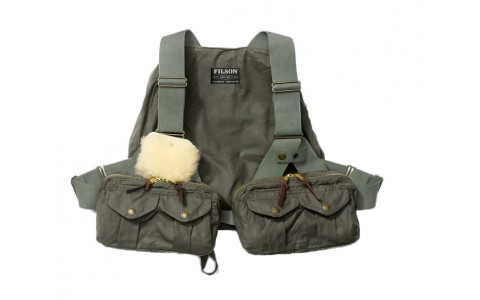 Filson Weather Vest Fly Fishing